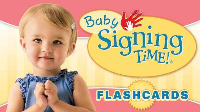 It's Baby Signing Time Flashcards