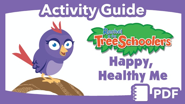 TreeSchoolers: Happy, Health Me PDF Activity Guide