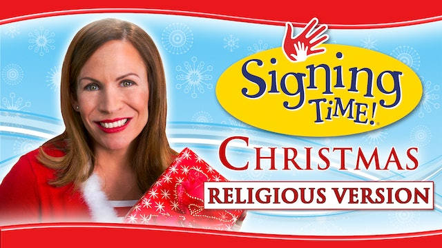 Signing Time Christmas with Glory: The Bible Nativity