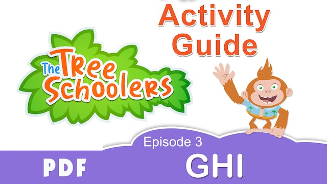 TreeSchoolers Phonetica GHI Activity Guide PDF