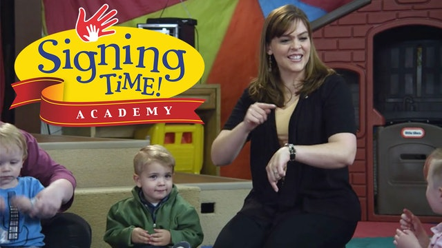 Take a Signing Time Academy Class