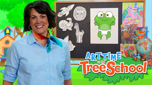 Art Time at the TreeSchool | Baby Hopkins