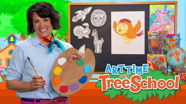 Art Time at the TreeSchool | Abacus F...