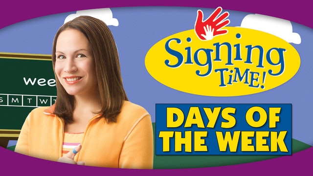 Signing Time Series Two Episode 6 ASL Tips: More Signs