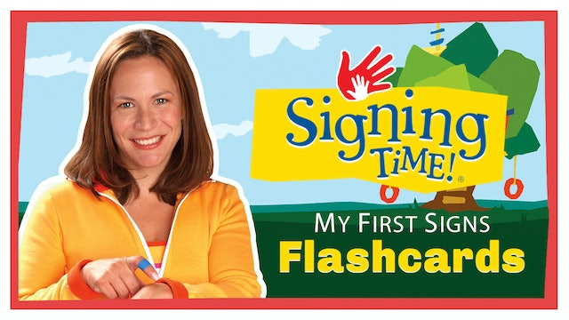 My First Signs Flashcards