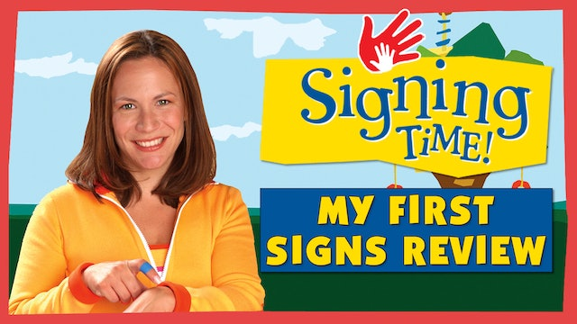 Signing Time Series One Episode 1 Sign Review