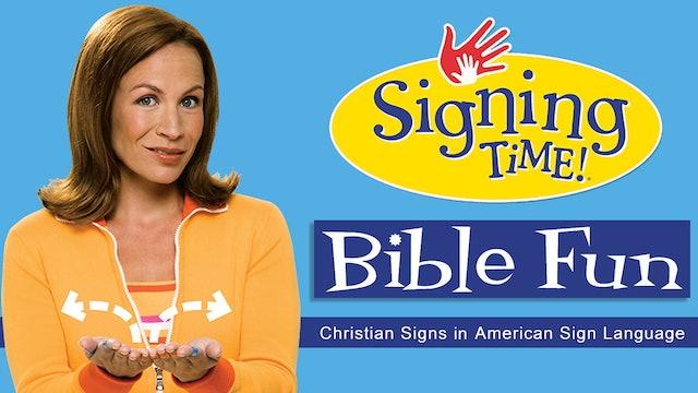 Bible Fun ASL Sign