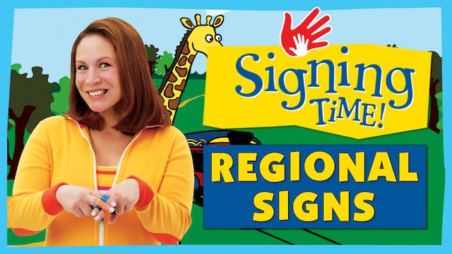 The Zoo Train - Regional Signs