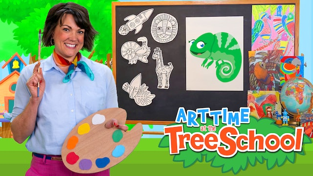 Art Time at the TreeSchool | Chroma