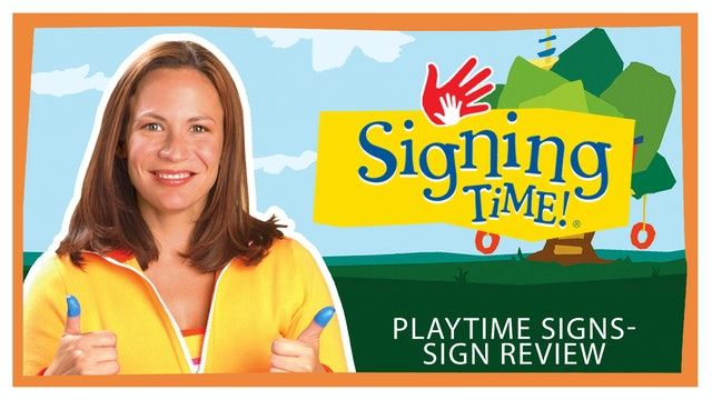 Signing Time Series One Episode 2 Sign Review