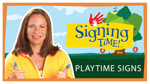 Playtime Signs (English)