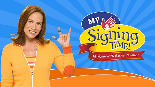 Signing Time at Home with Rachel | Stay Home, Stay Safe
