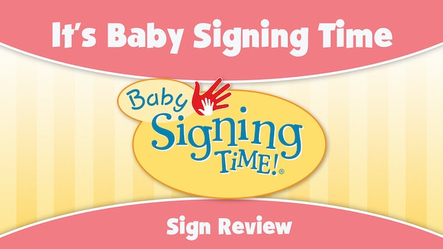 Baby Signing Time Episode 1 It's Baby Signing Time Sign Review