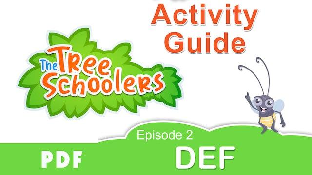 TreeSchoolers Phonetica DEF Activity Guide PDF
