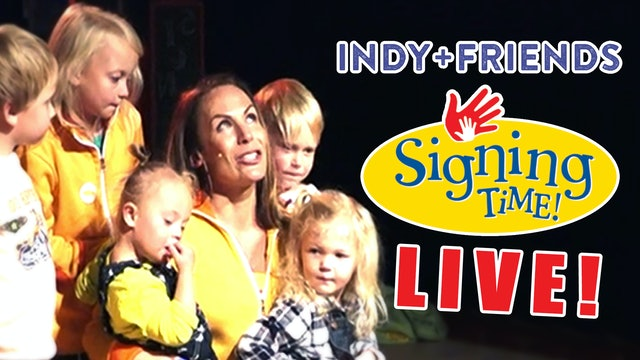 Signing Time Live Concert: Indy+Friends