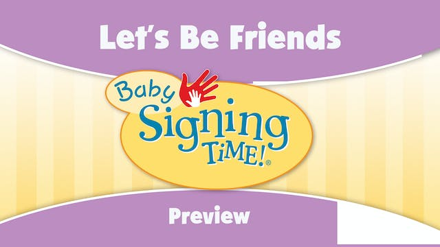 Baby Signing Time Vol 4 Preview