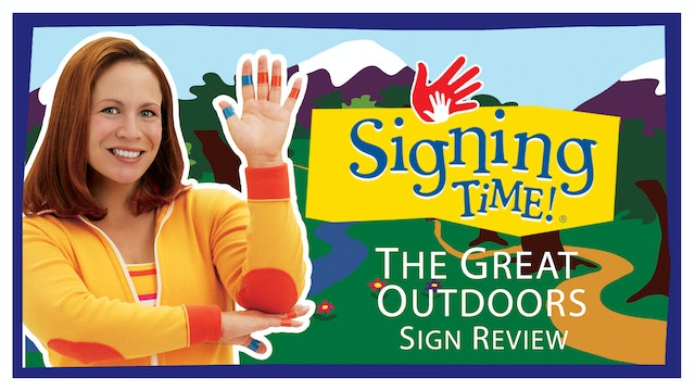 Signing Time Series One Episode 8 Sign Review