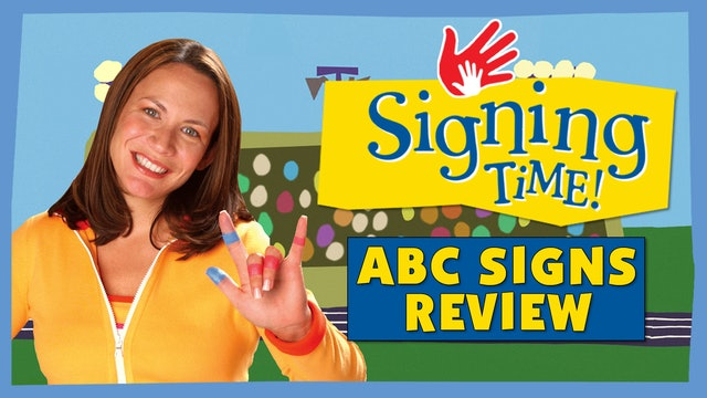 Signing Time Series One Episode 5 Sign Review