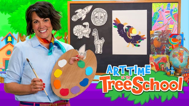 Art Time at the TreeSchool | Tomas