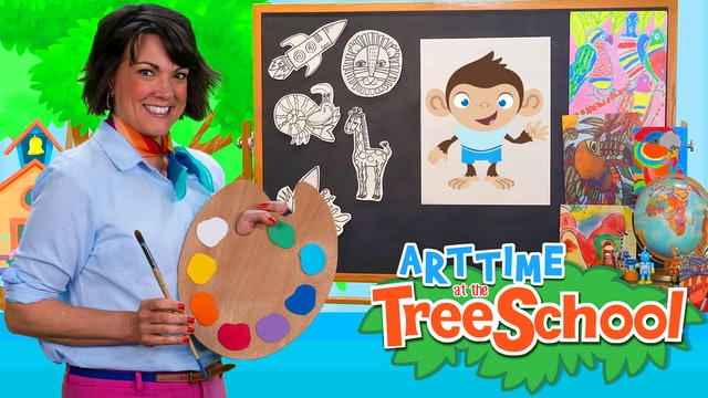 Art Time at the TreeSchool | Simon