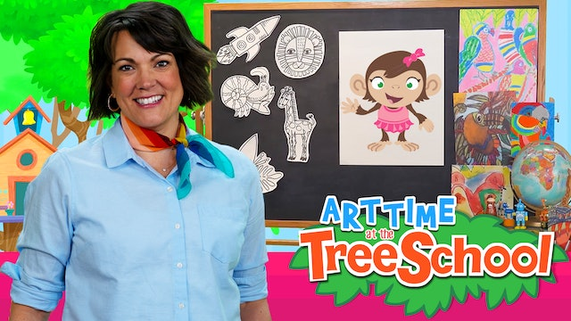 Art Time at the TreeSchool - Penny