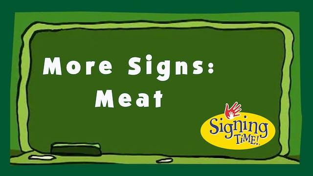 Bonus Signs: Meat