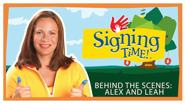 Playtime Signs Behind the Scenes: Ale...