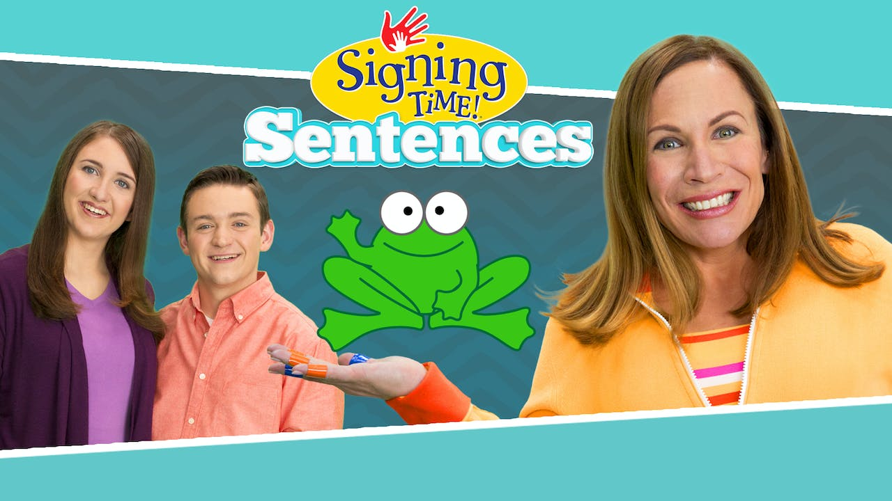 Signing Time Sentences Video Collection