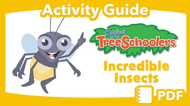 TreeSchoolers: Incredible Insects  PDF Activity Guide