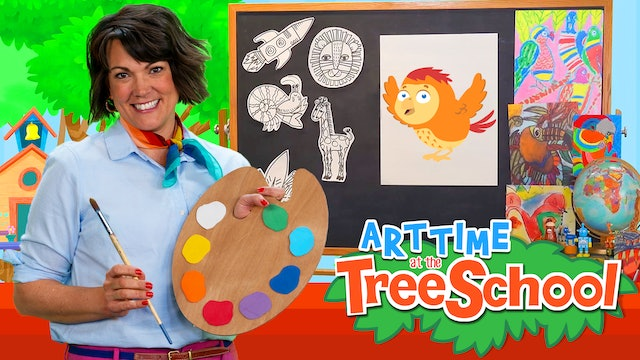 Art Time at the TreeSchool | Abacus Finch