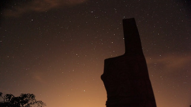 27. (TL) Sacred Site Statue, Stars Sp...