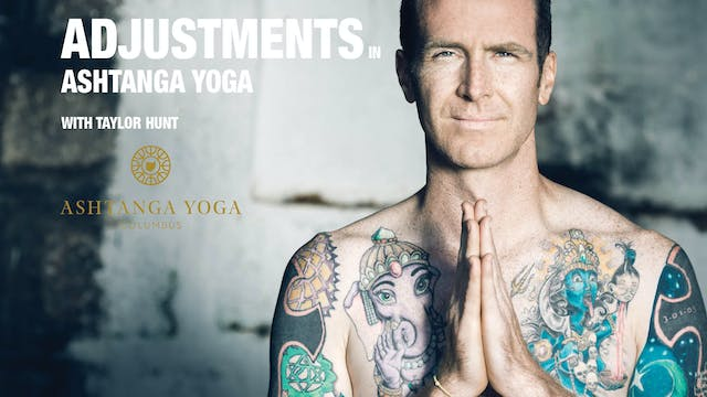 Adjustments in Ashtanga Yoga