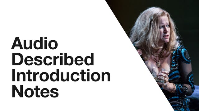 Cat on a Hot Tin Roof: Audio Described Introduction Notes
