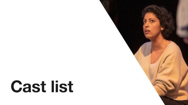 Consent: Cast List