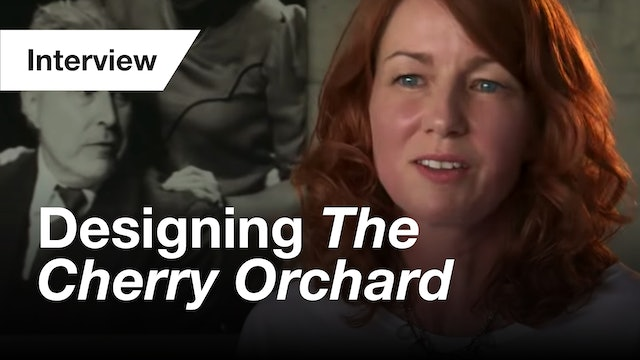 The Cherry Orchard: Interview (Design)