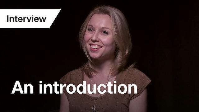 Antigone: Interview (Introduction)