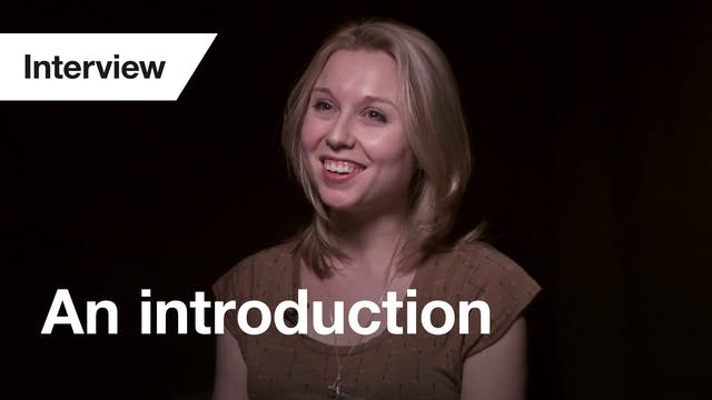 Antigone: Interview (Introduction)