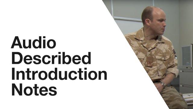 Othello: Audio Described Introduction Notes