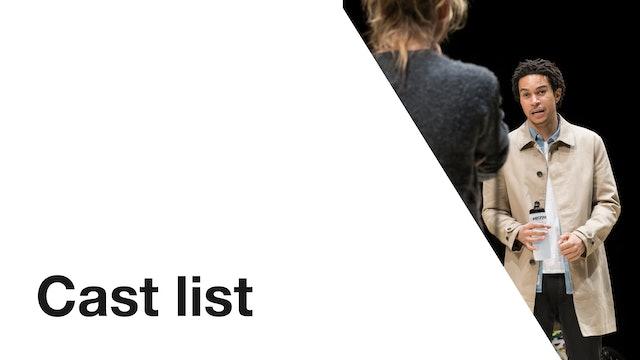 Yerma: Cast List