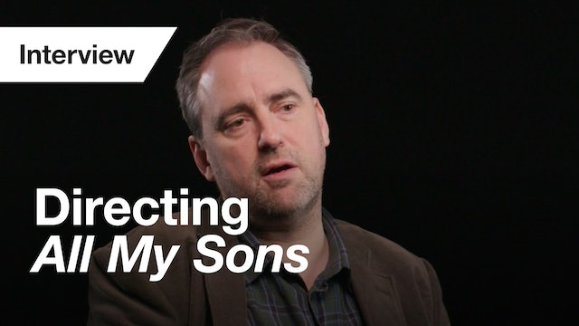 All My Sons: Interview (Jeremy Herrin)