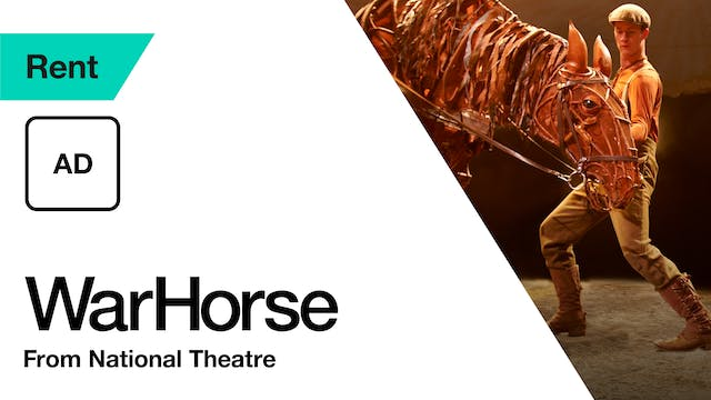 War Horse: Audio Description | Ends 20 January
