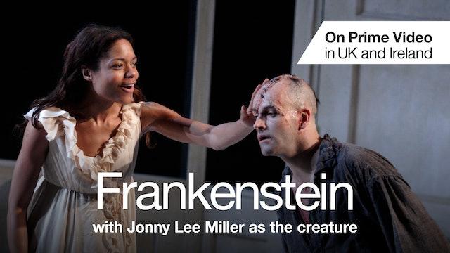 Frankenstein with Jonny Lee Miller as the creature