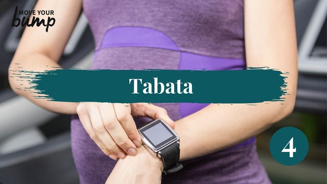 Tabata Labor Training Cardio Workout 4