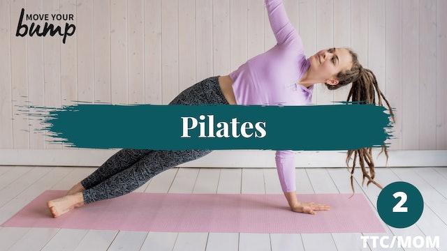 TTC Pilates #2 Lower body & Core