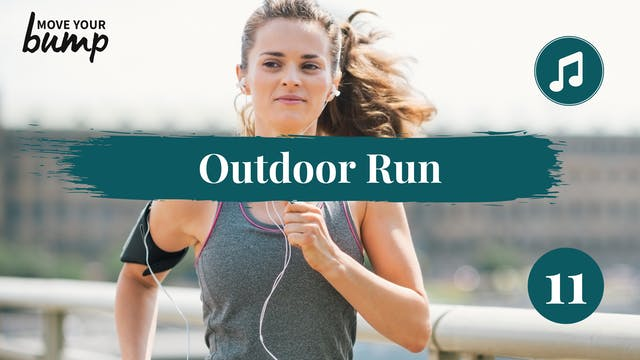 Outdoor Run & Strength Workout 11