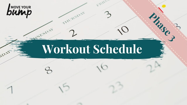 NEW! 12 Week Ab Rehab Phase 3 Schedule