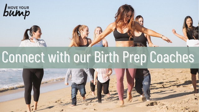 Connect with Our Labor & Birth Prep Coaches
