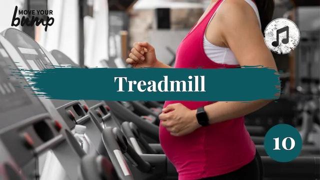 Treadmill Labor Training Cardio Workout 10