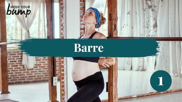 Barre Cardio & Sculpt Workout 01