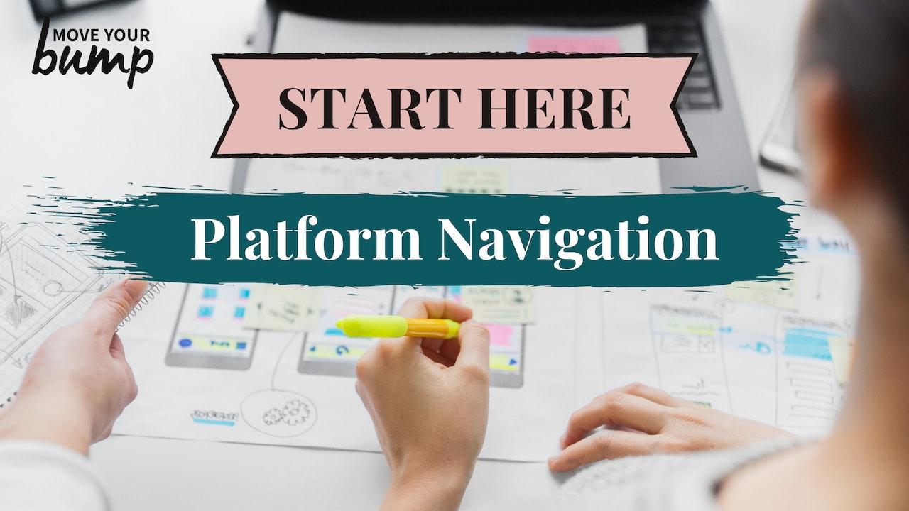 MYB 102 - Platform Navigation